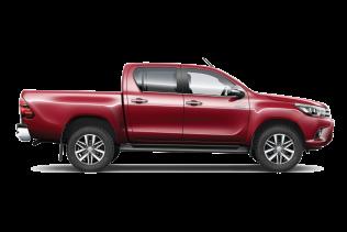 Toyota Hilux Pickup eða sambærilegur | 4×4 – Flokkur G1