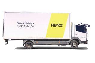 J4 – Mercedes-Benz Atego Cargo Box eða sambærilegur (OKMN)