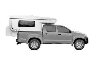 S – Toyota Hilux Camper | 3 Svefnpláss | 4×4 (SHMN)