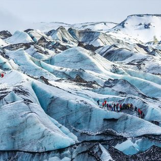 Visit 2 great glacier spots in Iceland you have to have good ice-sight for