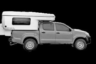 S – Toyota Hilux | 4×4 | Camper | Sleeps 3 (SHMN)