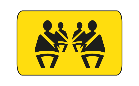SAFETY BELTS ARE REQUIRED BY LAW